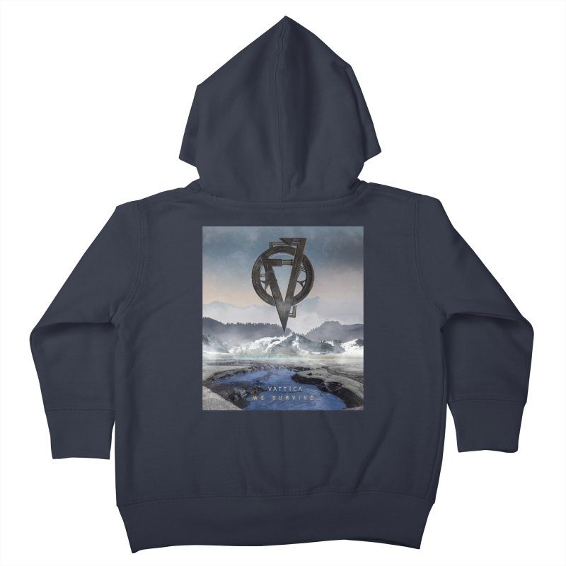 WE SURVIVE (Cover Art) Kids Toddler Zip-Up Hoody by VATTICA | OFFICIAL MERCH