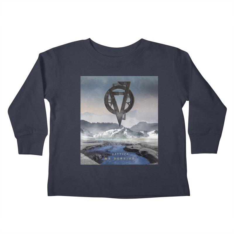 WE SURVIVE (Cover Art) Kids Toddler Longsleeve T-Shirt by VATTICA | OFFICIAL MERCH