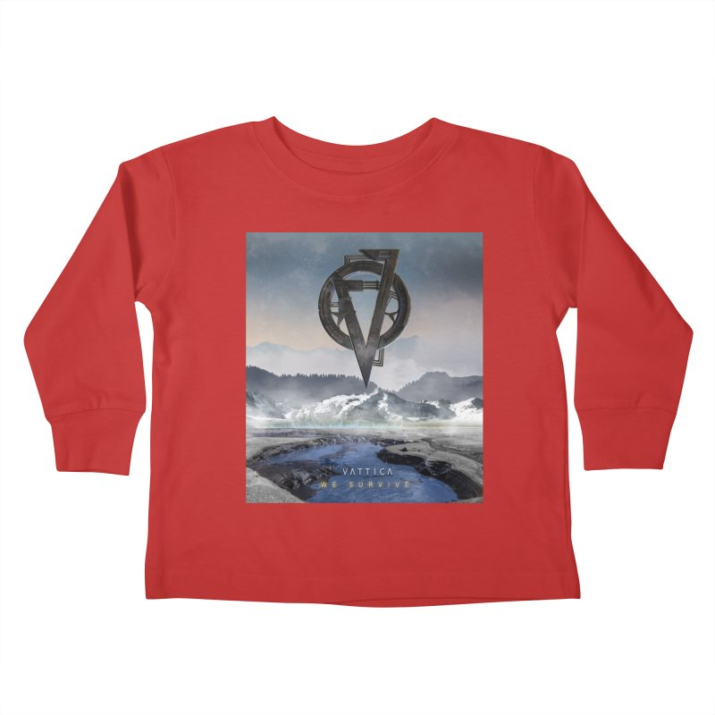 WE SURVIVE (Cover Art) Kids Toddler Longsleeve T-Shirt by VATTICA | OFFICIAL MERCH