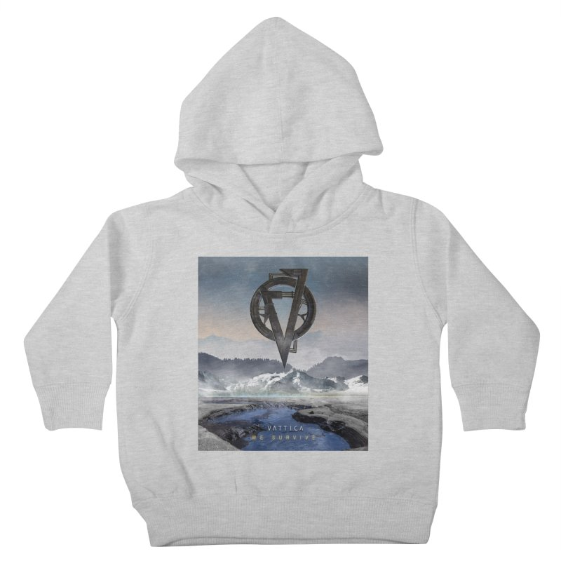 WE SURVIVE (Cover Art) Kids Toddler Pullover Hoody by VATTICA | OFFICIAL MERCH