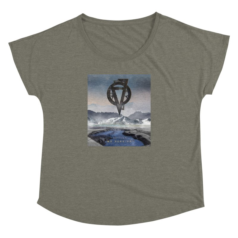 WE SURVIVE (Cover Art) Women's Dolman Scoop Neck by VATTICA | OFFICIAL MERCH