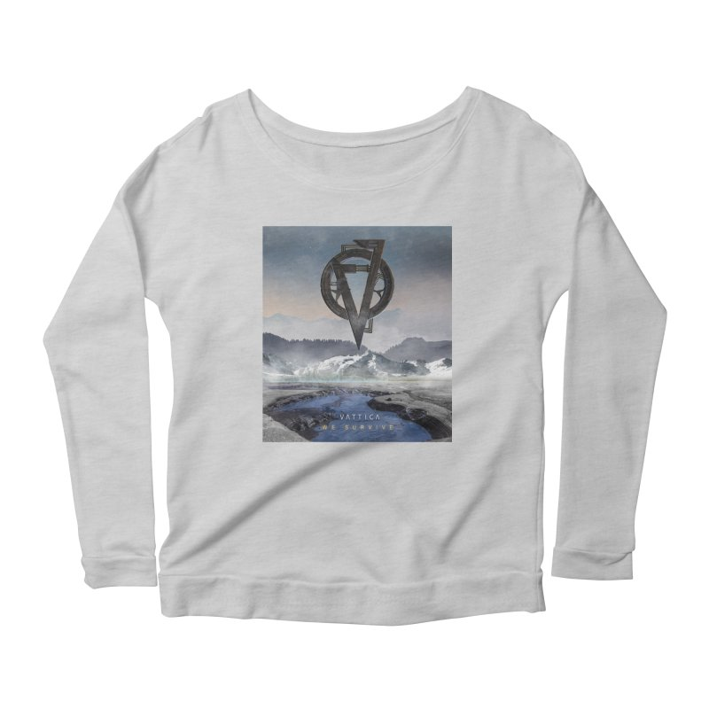 WE SURVIVE (Cover Art) Women's Scoop Neck Longsleeve T-Shirt by VATTICA | OFFICIAL MERCH