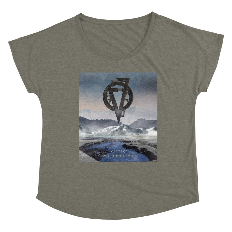 WE SURVIVE (Cover Art) Women's Scoop Neck by VATTICA | OFFICIAL MERCH