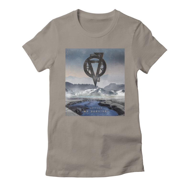 WE SURVIVE (Cover Art) Women's Fitted T-Shirt by VATTICA | OFFICIAL MERCH