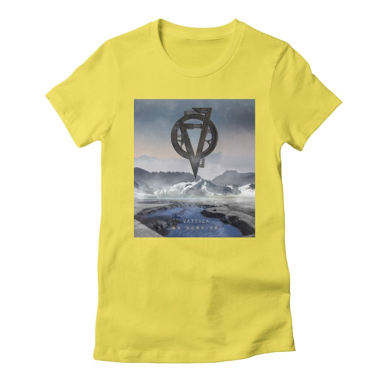 WE SURVIVE (Cover Art) Women's Fitted T-Shirt by VATTICA   OFFICIAL MERCH