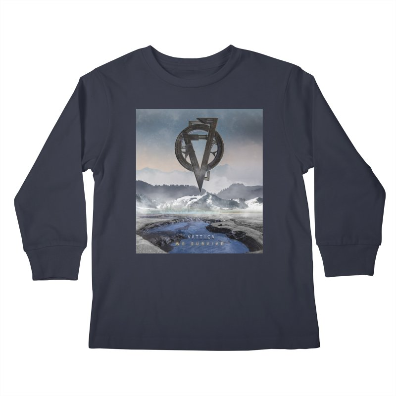 WE SURVIVE (Cover Art) Kids Longsleeve T-Shirt by VATTICA | OFFICIAL MERCH