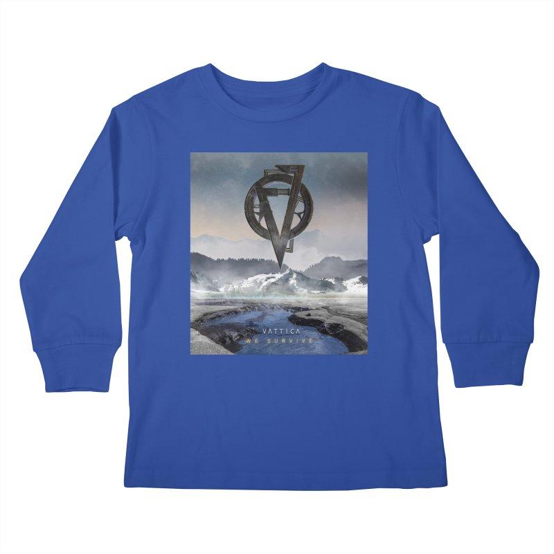 WE SURVIVE (Cover Art) Kids Longsleeve T-Shirt by VATTICA | OFFICIAL MERCH