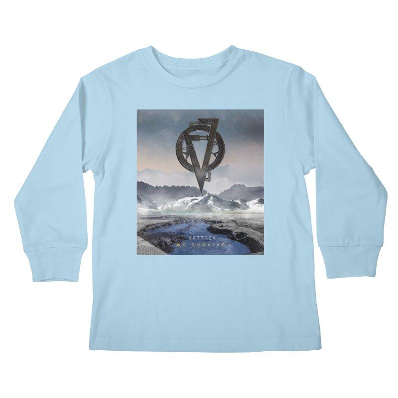 WE SURVIVE (Cover Art) Kids Longsleeve T-Shirt by VATTICA   OFFICIAL MERCH