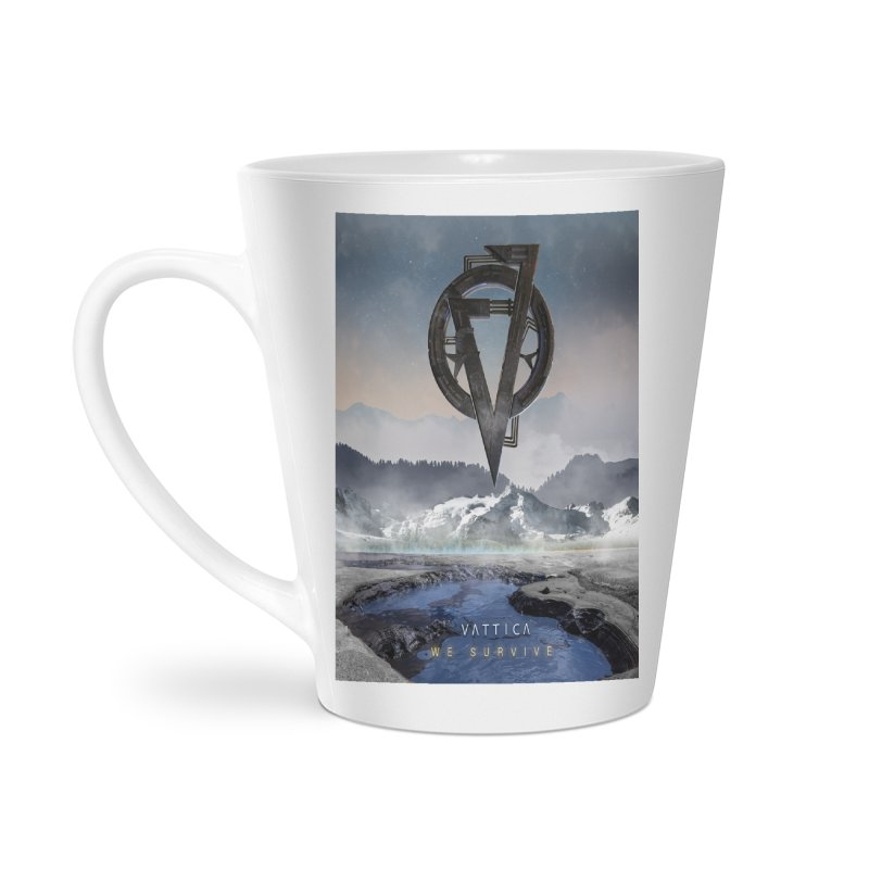 WE SURVIVE (Cover Art) Accessories Latte Mug by VATTICA | OFFICIAL MERCH