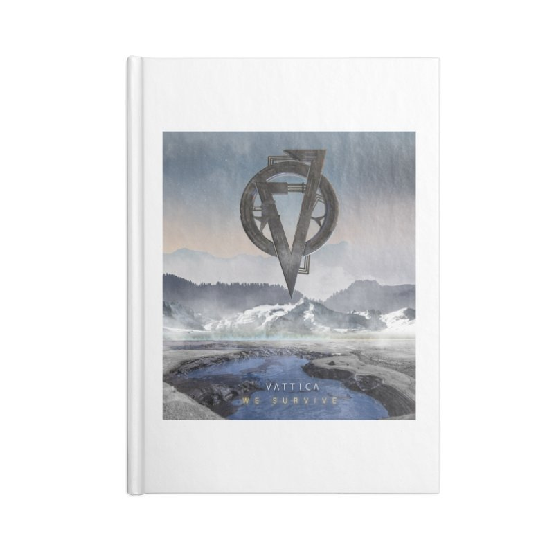 WE SURVIVE (Cover Art) Accessories Blank Journal Notebook by VATTICA | OFFICIAL MERCH