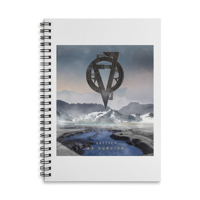 WE SURVIVE (Cover Art) Accessories Notebook by VATTICA | OFFICIAL MERCH