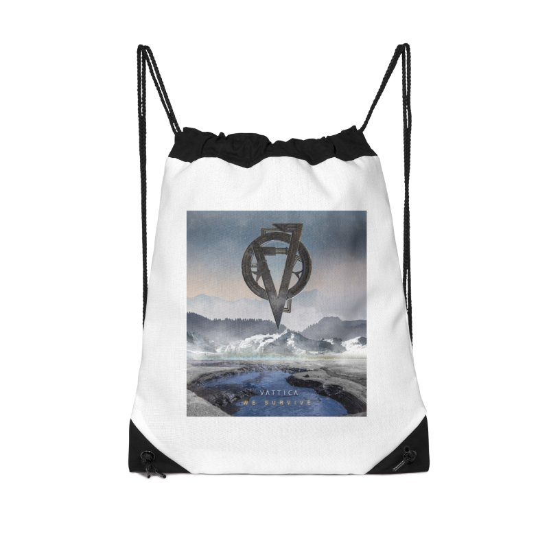 WE SURVIVE (Cover Art) Accessories Drawstring Bag Bag by VATTICA | OFFICIAL MERCH