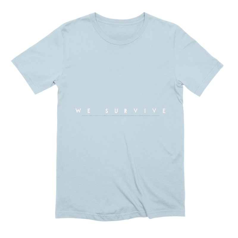 WE SURVIVE (Binary Code) Men's Extra Soft T-Shirt by VATTICA | OFFICIAL MERCH