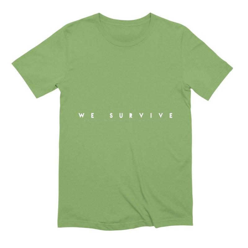 WE SURVIVE (Binary Code) Men's T-Shirt by VATTICA | OFFICIAL MERCH