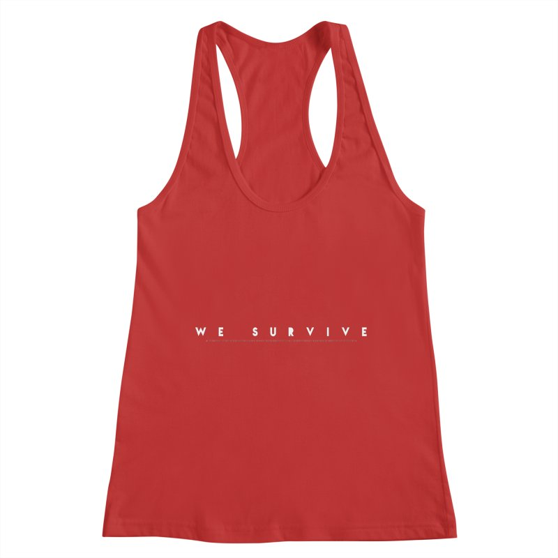 WE SURVIVE (Binary Code) Women's Racerback Tank by VATTICA | OFFICIAL MERCH