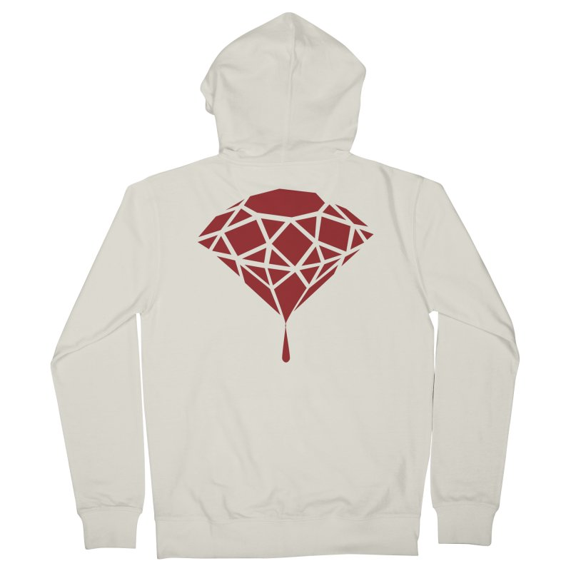 Blood Diamond Men's Zip-Up Hoody by Vain & Virtue