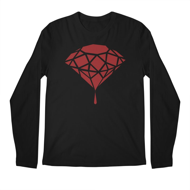 Blood Diamond Men's Longsleeve T-Shirt by Vain & Virtue