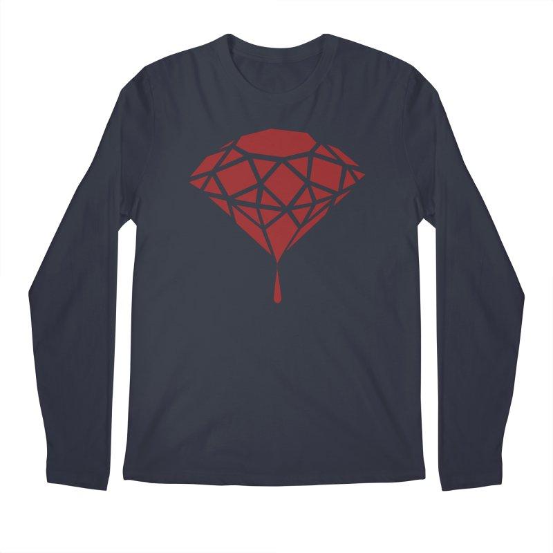 Blood Diamond Men's Longsleeve T-Shirt by Vain & Virtue