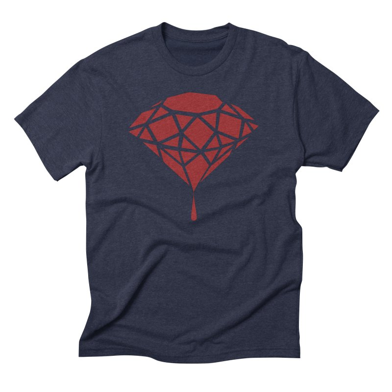 Blood Diamond Men's Triblend T-Shirt by Vain & Virtue