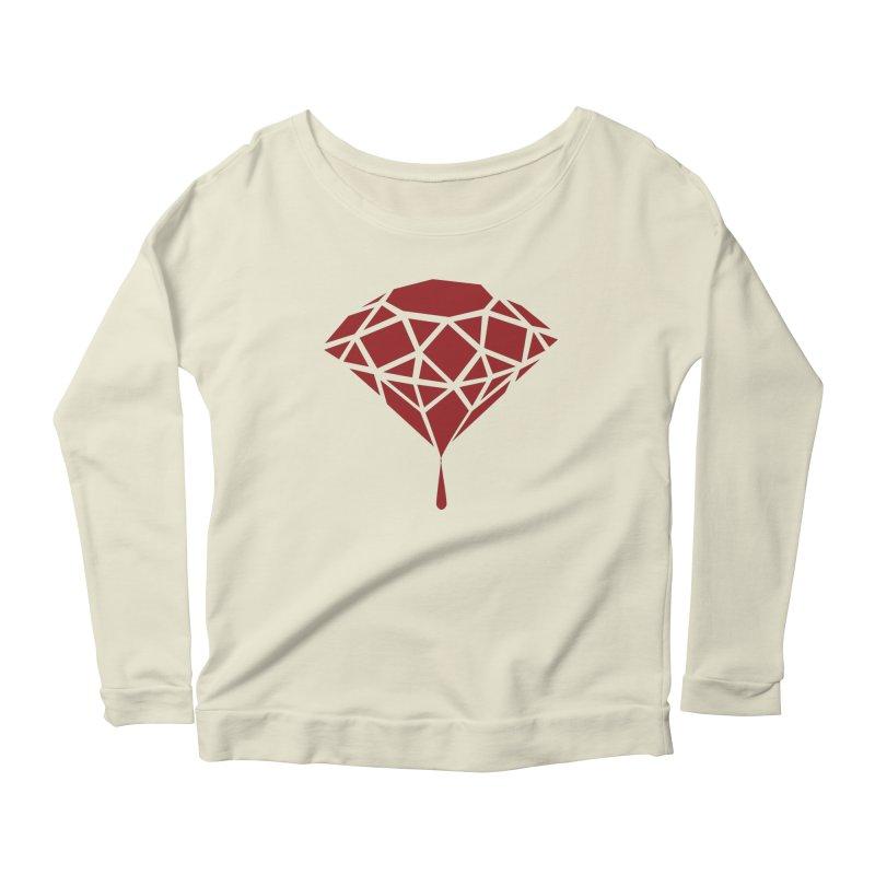 Blood Diamond Women's Longsleeve Scoopneck  by Vain & Virtue