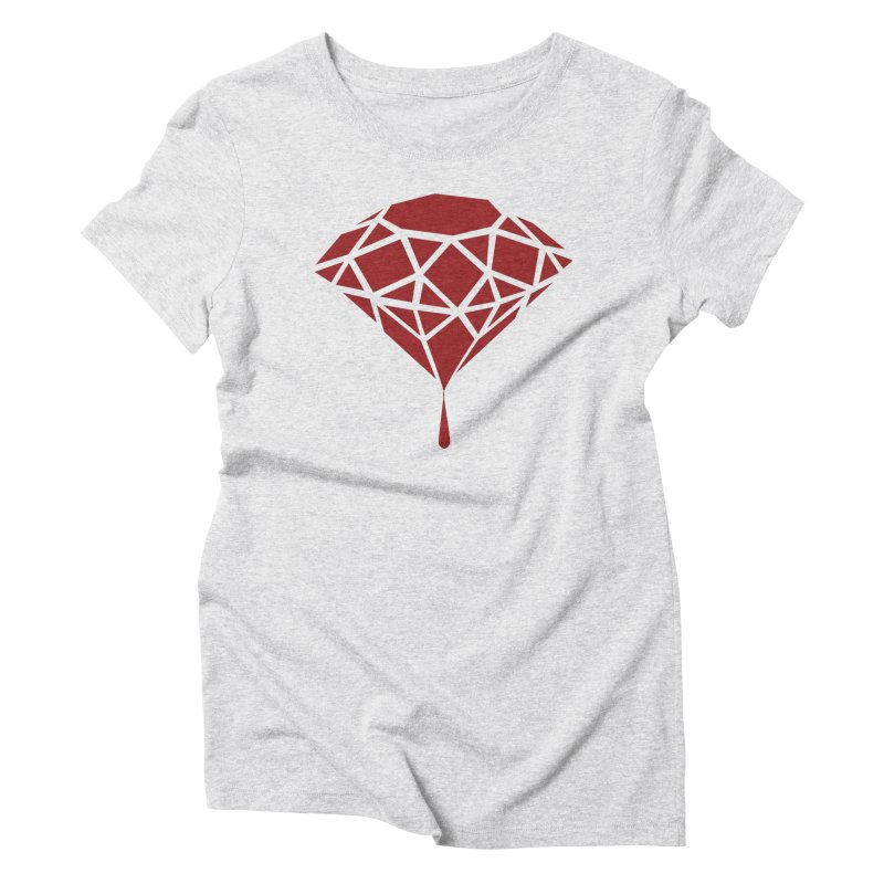 Blood Diamond Women's Triblend T-Shirt by Vain & Virtue