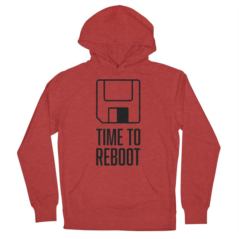 Time to Reboot Men's Pullover Hoody by Vain & Virtue