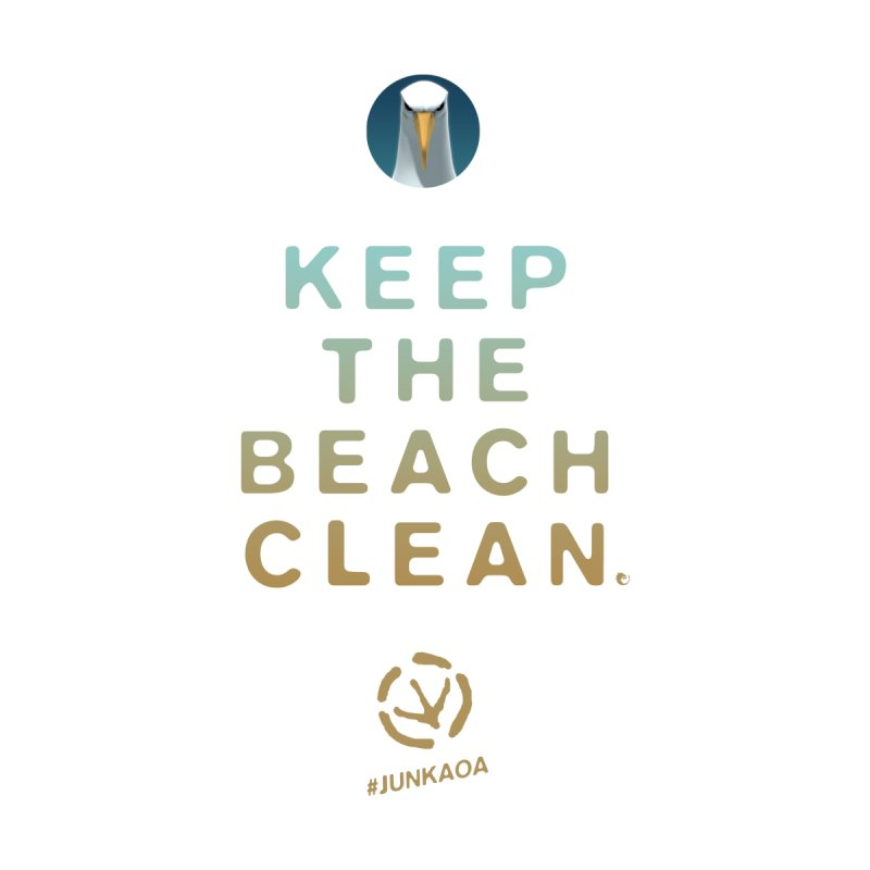 Keep The Beach Clean by vaxiin