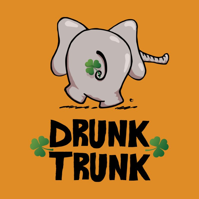 Drunk Trunk Elephant On St. Patrick's Day by vaxiin