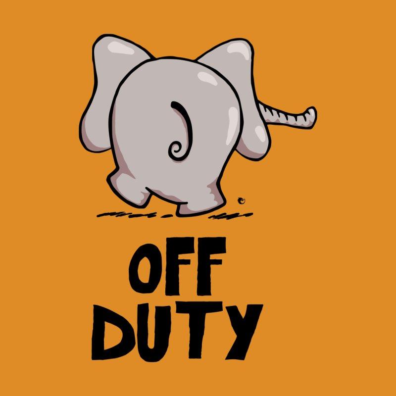 Off Duty Elephant by vaxiin
