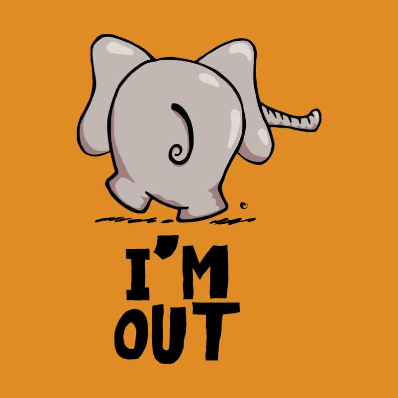 I'm Out Elephant by vaxiin
