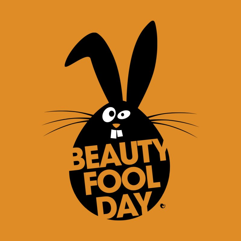 Beauty Fool Day - Funny Bunny April Fools Egg by vaxiin
