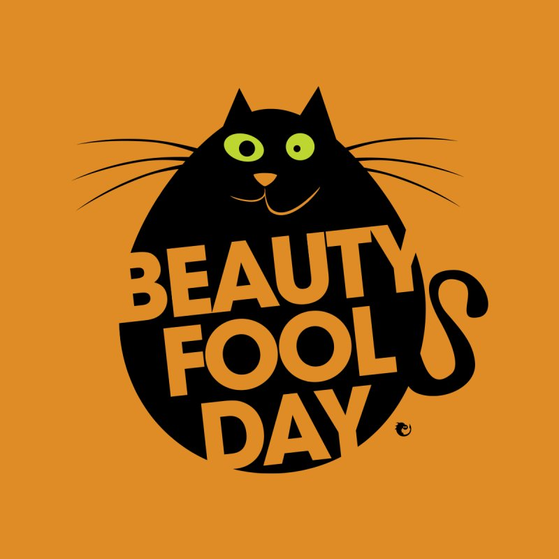 Beauty Fool Day - Easter Egg Funny Cat by vaxiin
