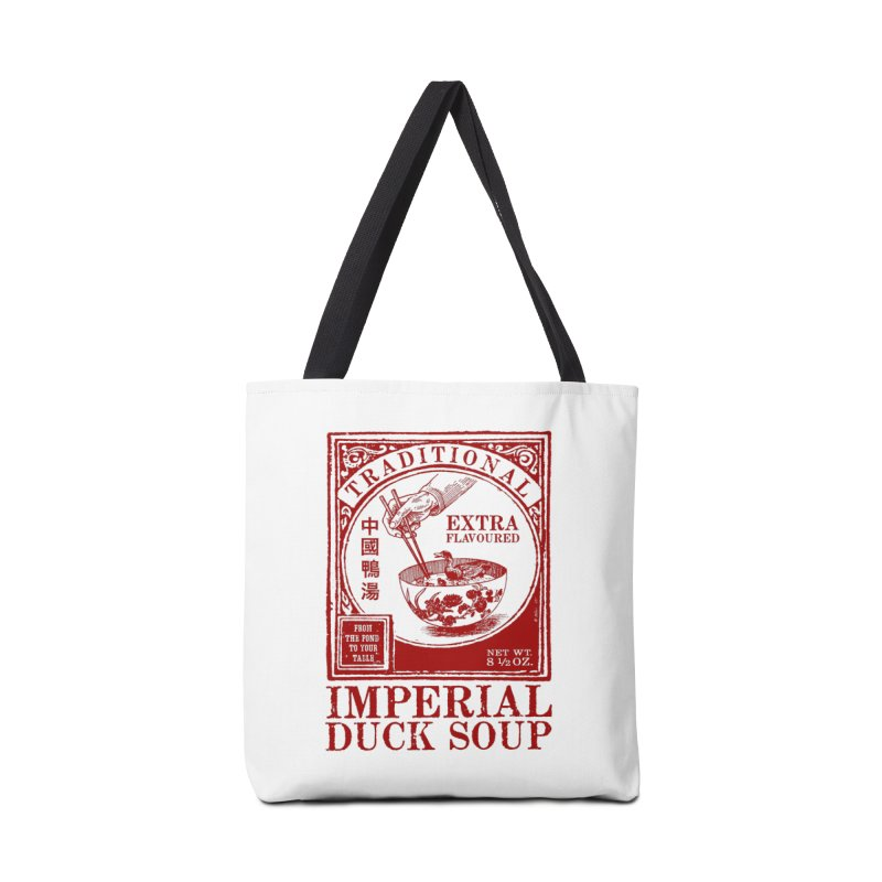 Imperial Duck Soup in Tote Bag by Victor Calahan
