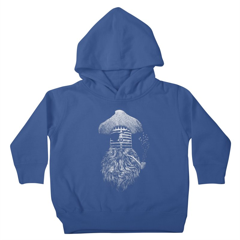 Pirate Music Kids Toddler Pullover Hoody by Victor Calahan