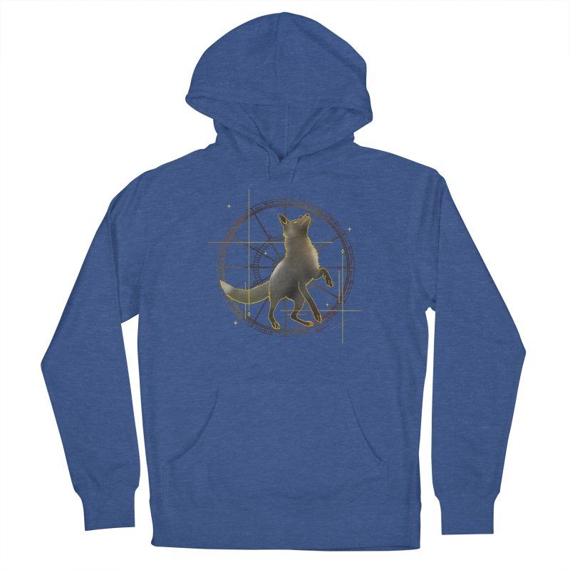 Celestial fox Women's Pullover Hoody by V Design's Artist Shop