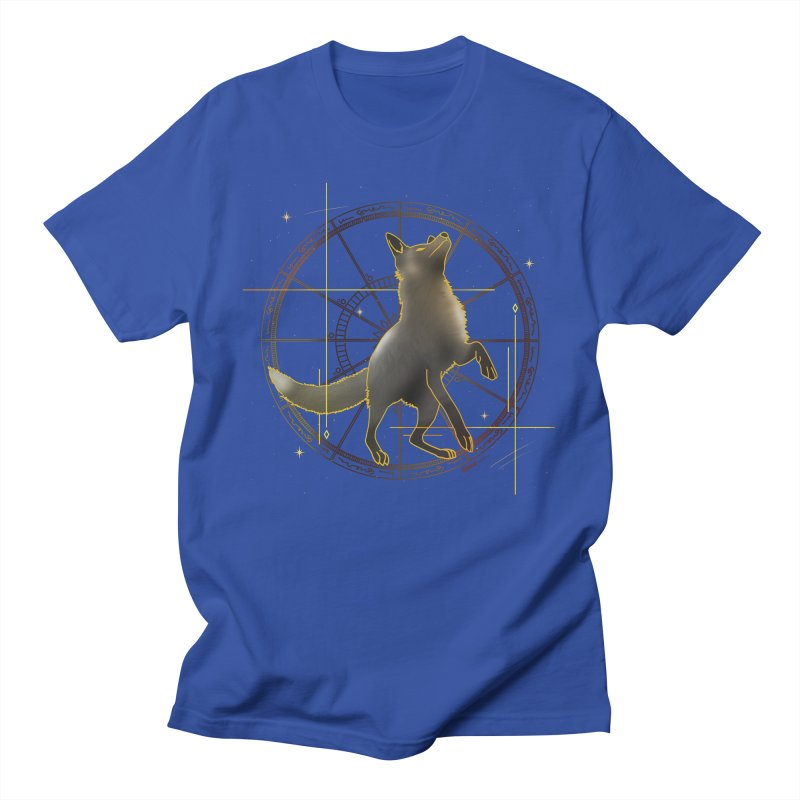 Celestial fox Women's T-Shirt by V Design's Artist Shop
