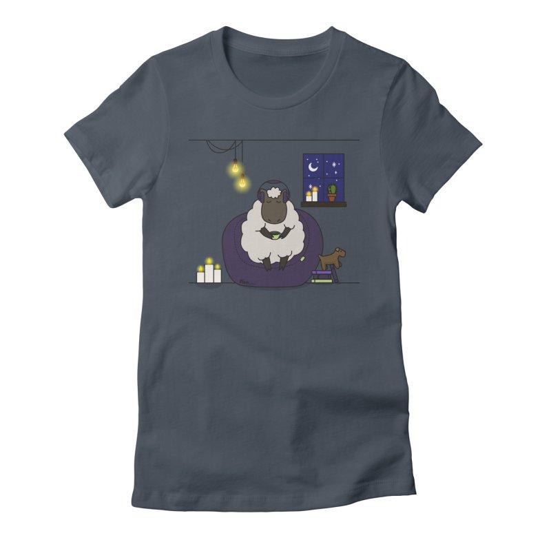 Sleepy sheep Women's T-Shirt by V Design's Artist Shop