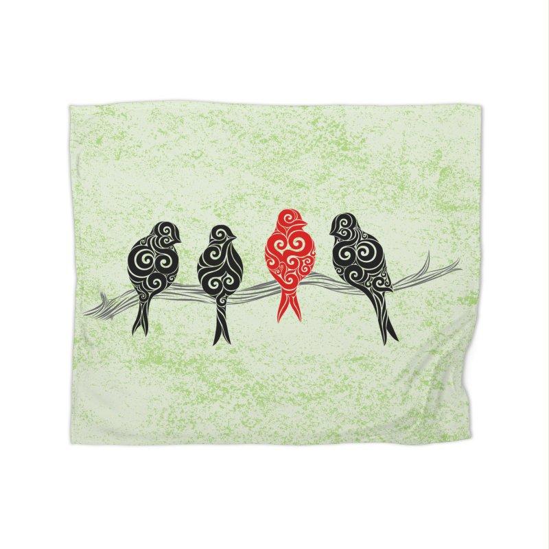 Swirly Individualist Home Blanket by VectorInk's Artist Shop