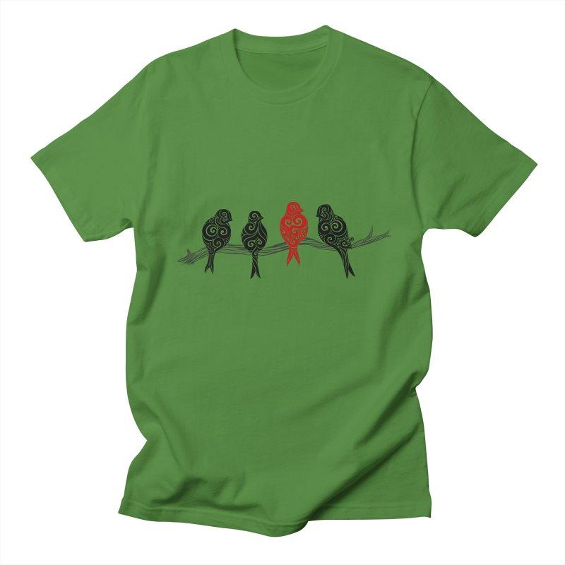 Swirly Individualist Women's Unisex T-Shirt by VectorInk's Artist Shop