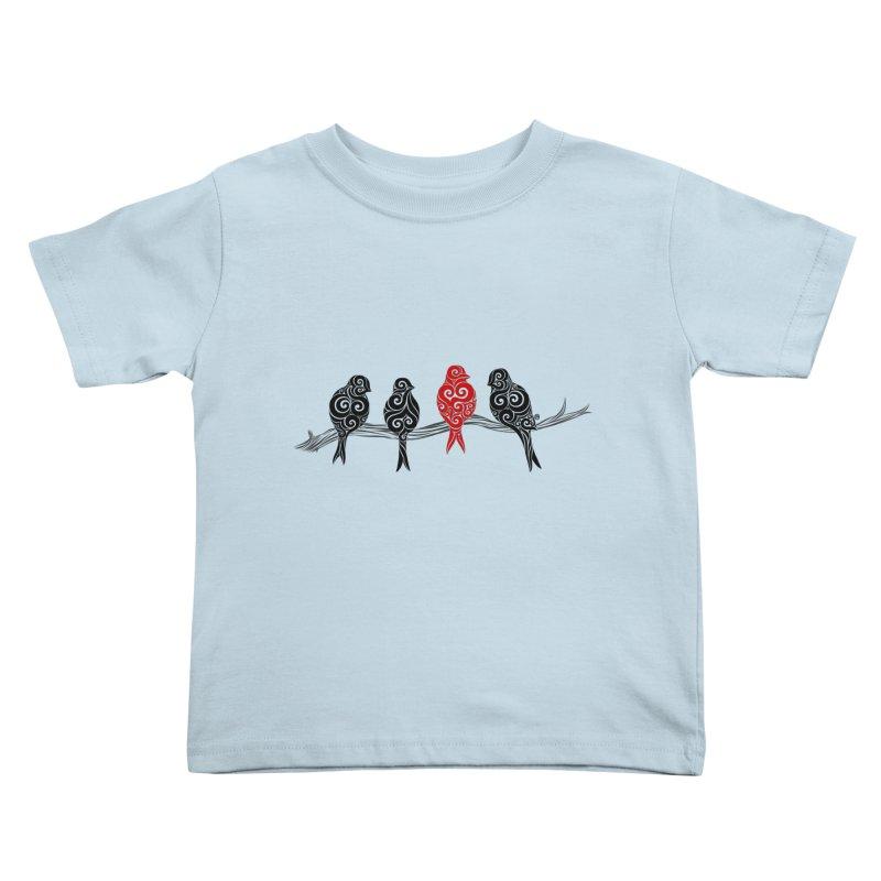 Swirly Individualist Kids Toddler T-Shirt by VectorInk's Artist Shop