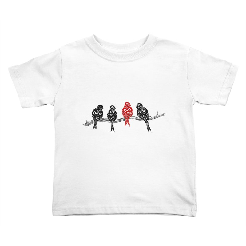 Swirly Individualist Kids Toddler T-Shirt by VectorInk's Artist Shop