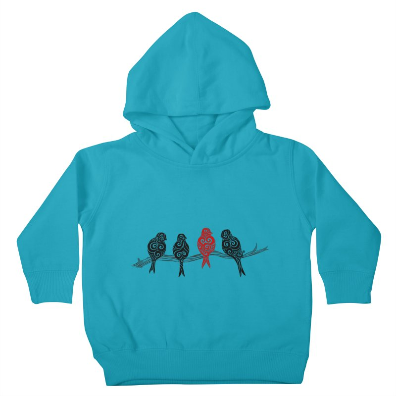 Swirly Individualist Kids Toddler Pullover Hoody by VectorInk's Artist Shop