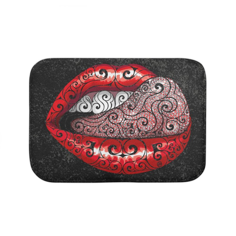Precious Tongue Home Bath Mat by VectorInk's Artist Shop