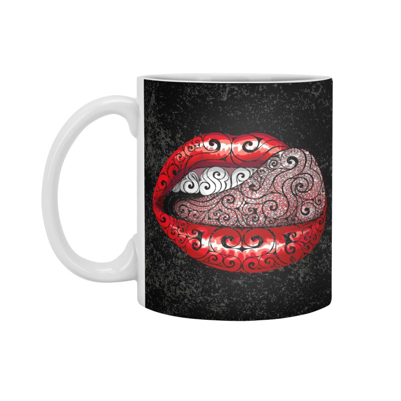 Precious Tongue Accessories Mug by VectorInk's Artist Shop