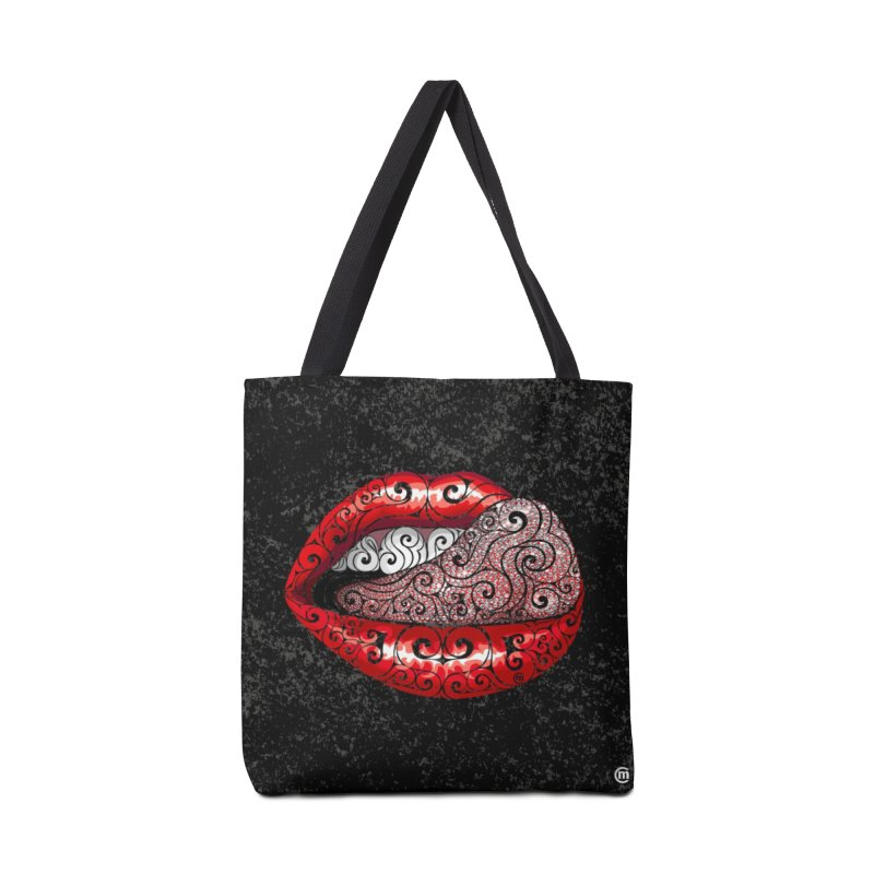 Precious Tongue Accessories Bag by VectorInk's Artist Shop