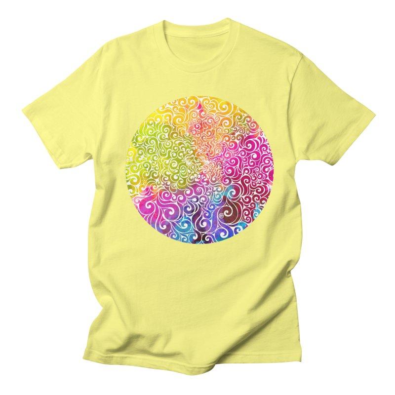 Swirly Portrait Women's Unisex T-Shirt by VectorInk's Artist Shop