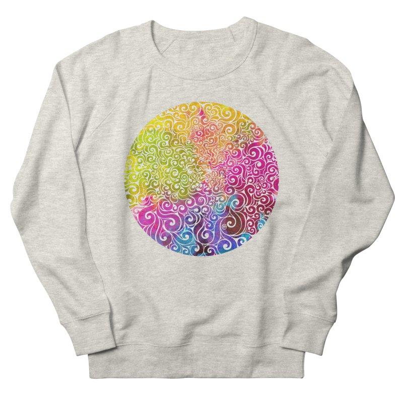 Swirly Portrait Women's Sweatshirt by VectorInk's Artist Shop
