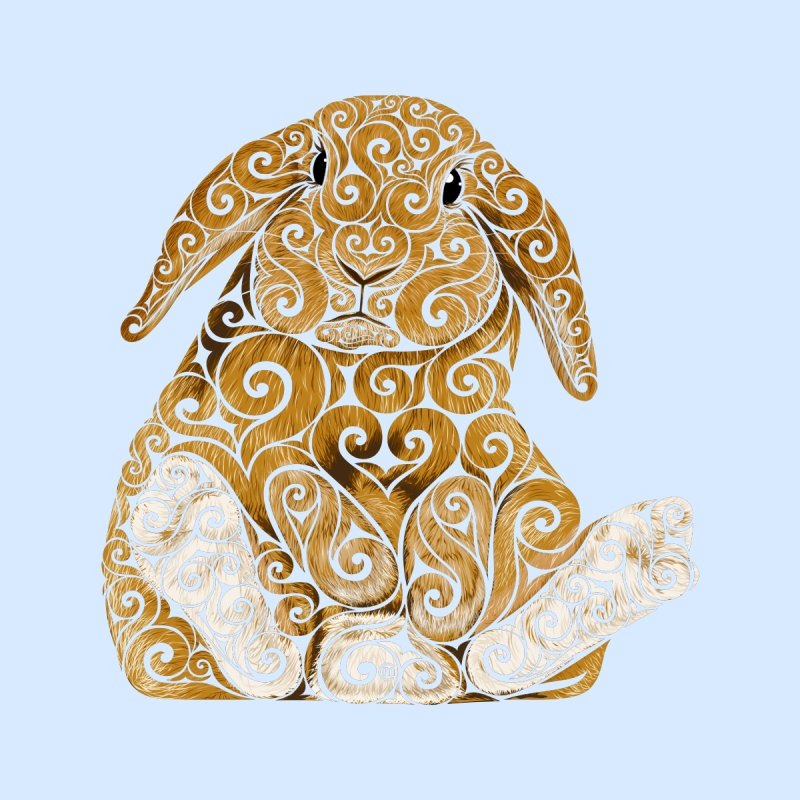 Swirly Bunny   by VectorInk's Artist Shop
