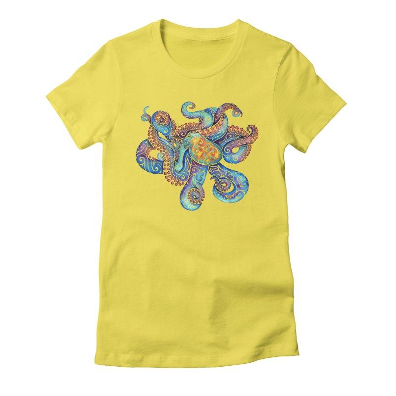 Swirly Octopus   by VectorInk's Artist Shop