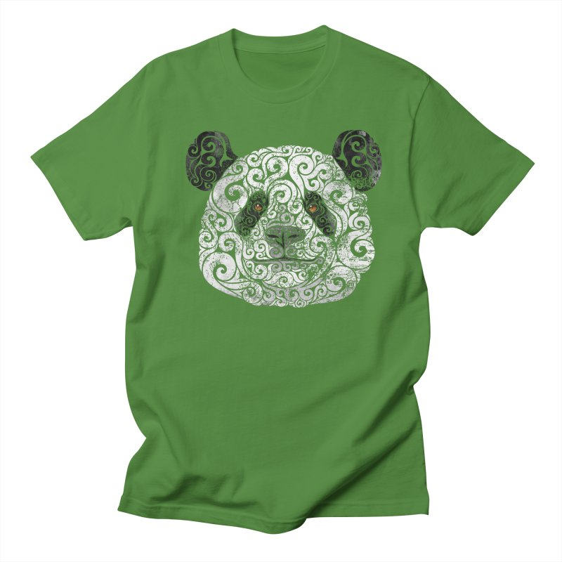 Swirly Panda   by VectorInk's Artist Shop